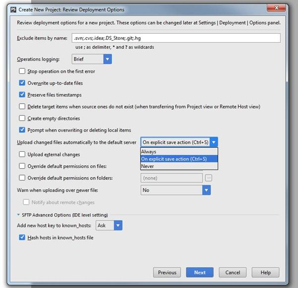 Save remote files on save