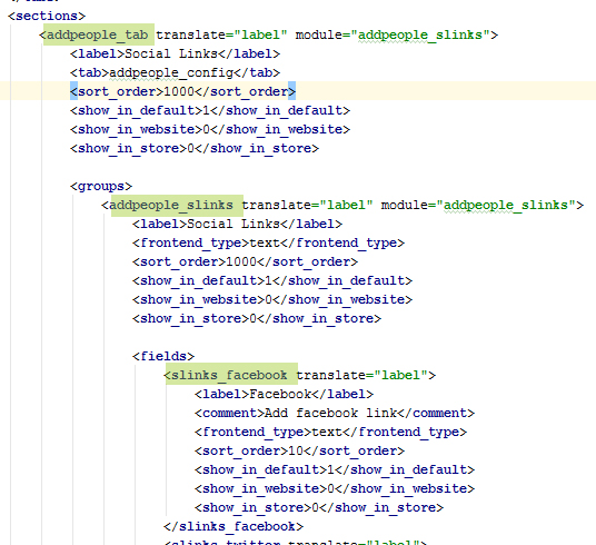 magento module frontend template file